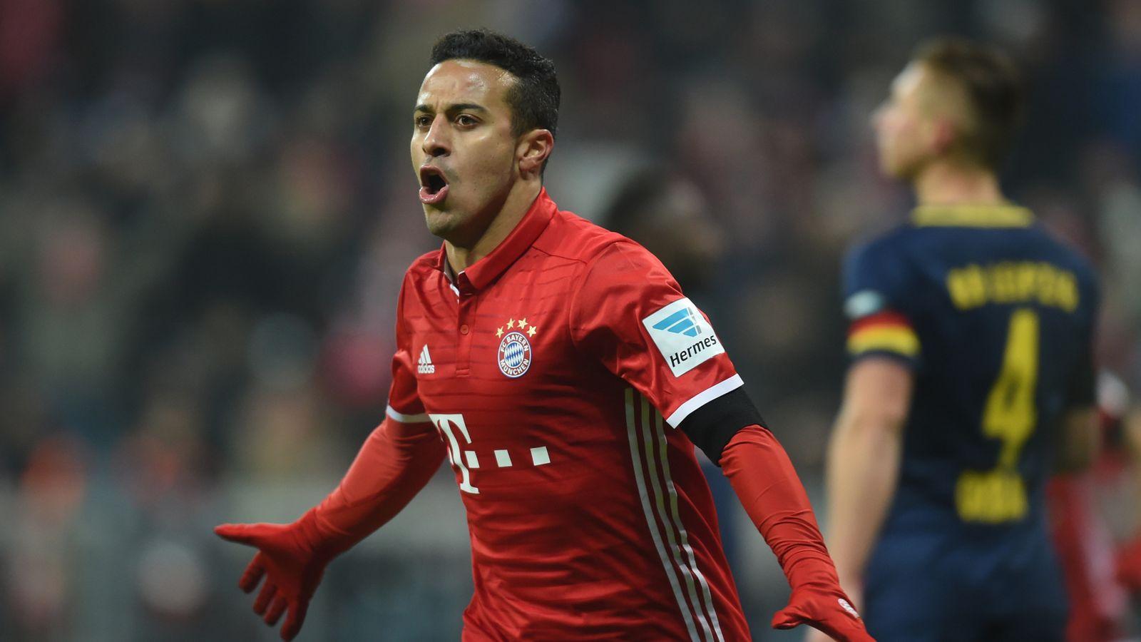 Thiago Alcantara agrees new Bayern Munich deal | Football