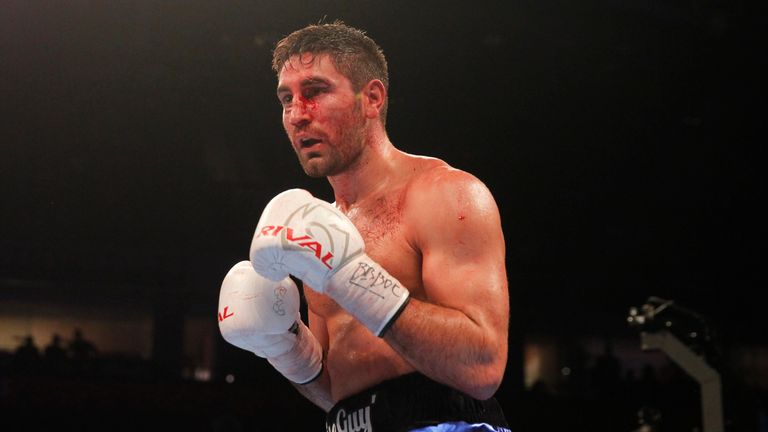 Frank Buglioni was cut in the sixth round
