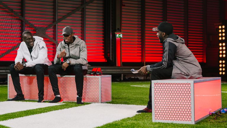 Pogba and Stormzy help launch the adidas Red Limit boot in London