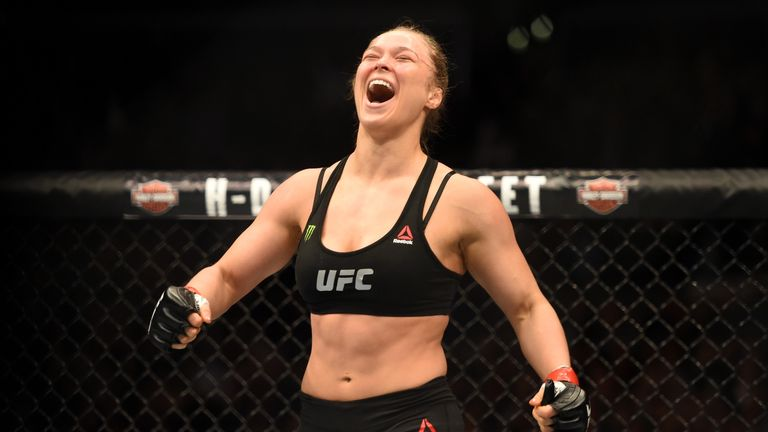 Ronda Rousey has had a huge impact in UFC