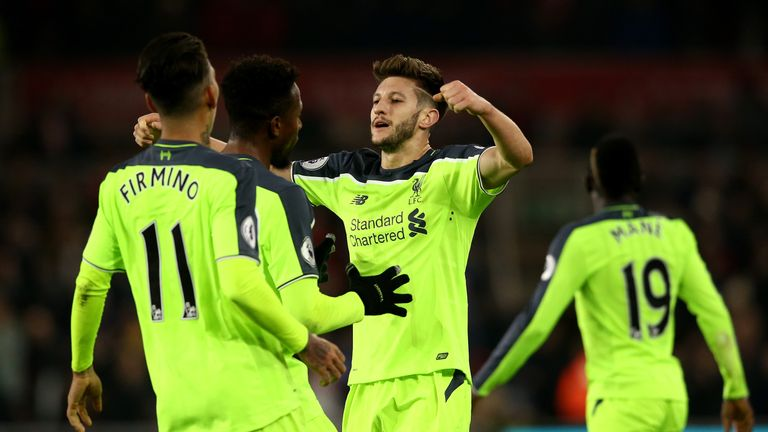 Lallana was on superb form on Wednesday evening