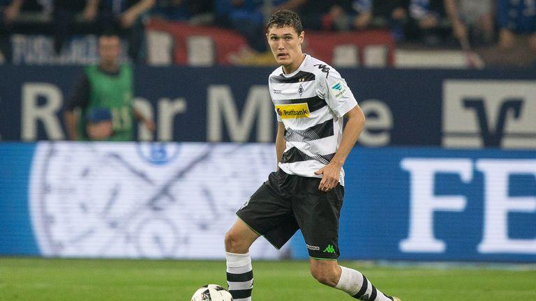 Christensen in action for Borussia Monchengladbach last season