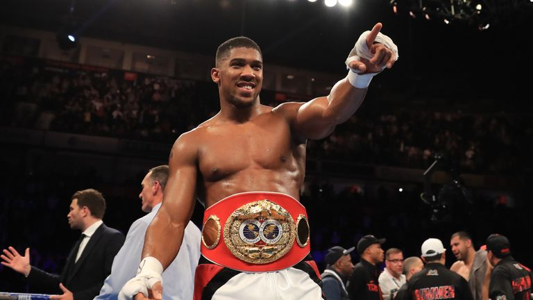 Anthony Joshua says a future fight with Wilder is inevitable if he defeats Wladimir Klitschko