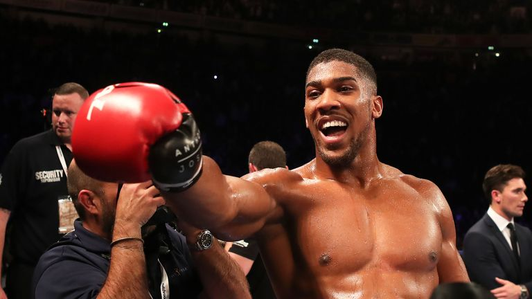 Joshua stopped Eric Molina in three rounds in the second defence of his IBF title in his last fight in December