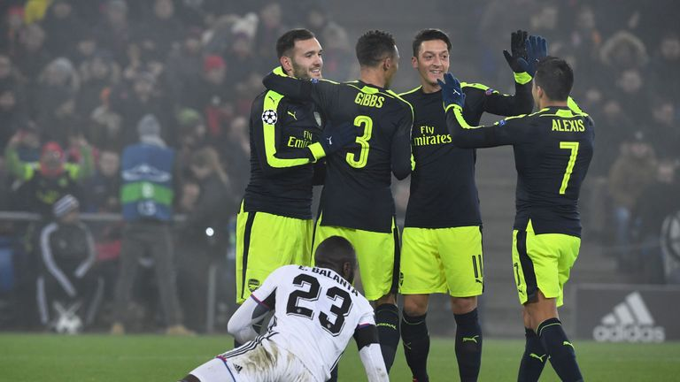 Arsenal will be hoping for a kind last-16 draw on Monday