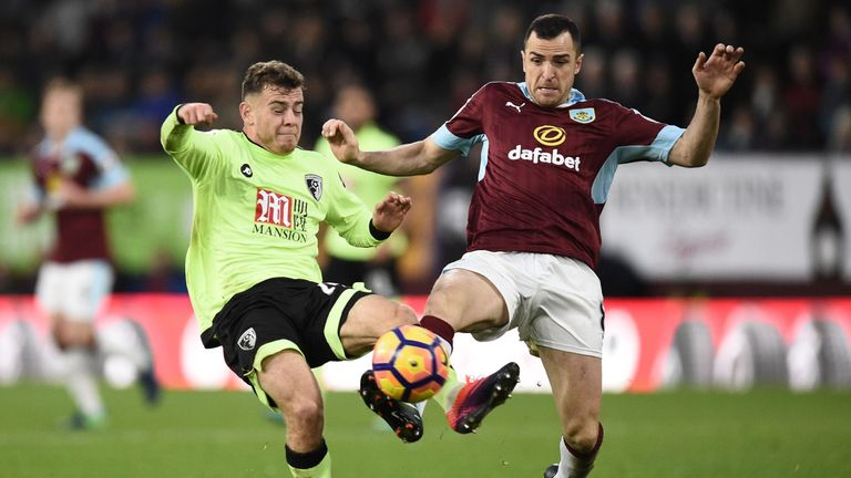 Marney had featured 21 times for Burnley this season before suffering the injury away at Arsenal
