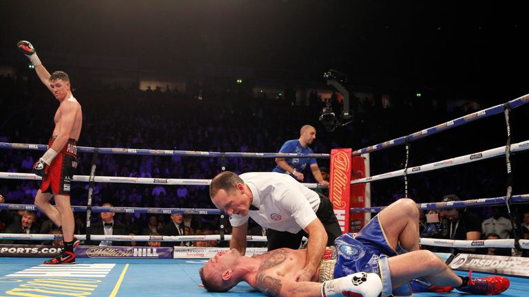 The Liverpudlian suddenly ended the fight in the 10th round