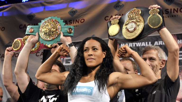 Cecilia Braekhus is the undisputed world champion at welterweight