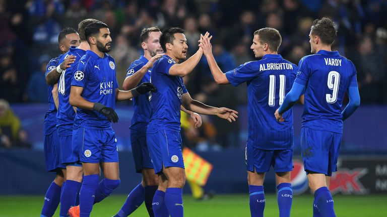 Leicester are set to face Sevilla in the last-16 of the Champions League