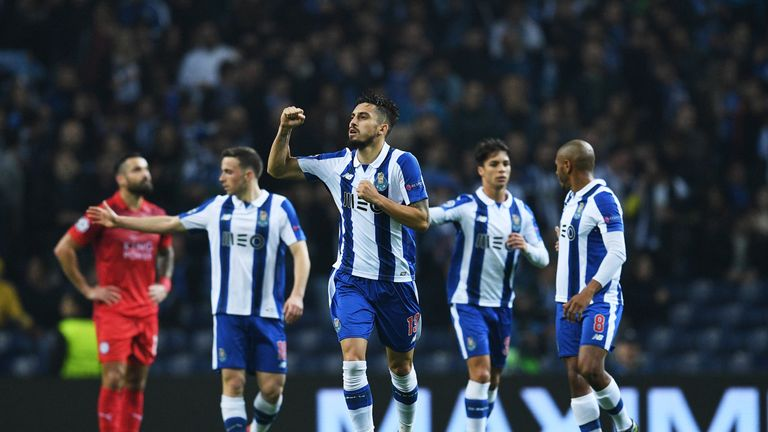 Porto finished second in their Champions League group behind  Leicester