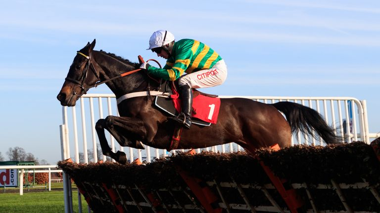 Charli Parcs is set to make the pace for Buveur D'Air