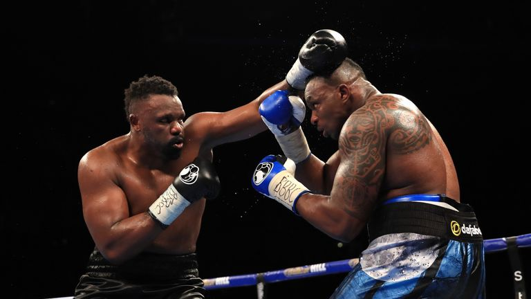Chisora mounted a determined assault in the early rounds