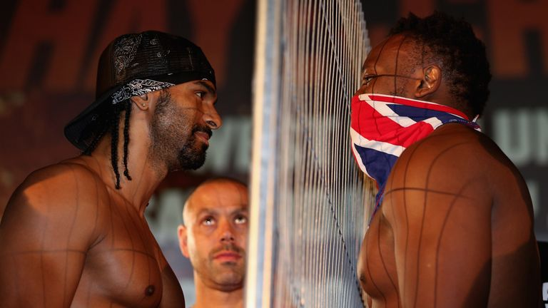 Dereck Chisora joins former rival David Haye's management group