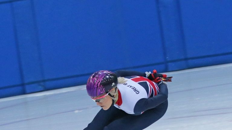 Another stunning weekend's work for Elise Christie