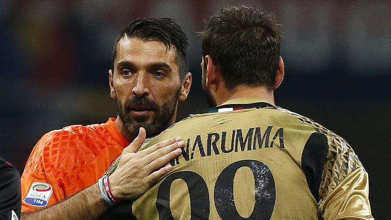 Could Donnarumma be Italy's next No 1 when Gianluigi Buffon retires?