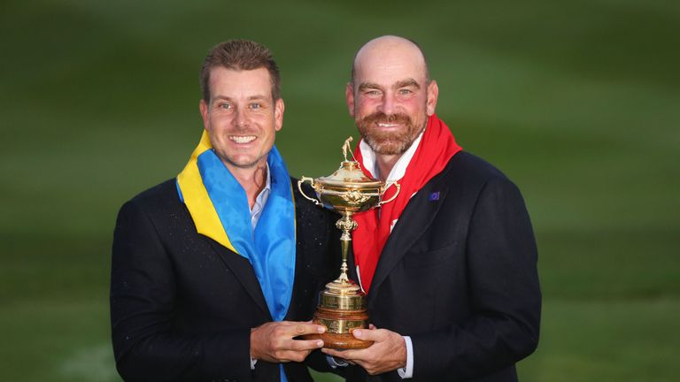 Thomas Bjorn has been a vice-captain in Stenson's last two Ryder Cup appearances