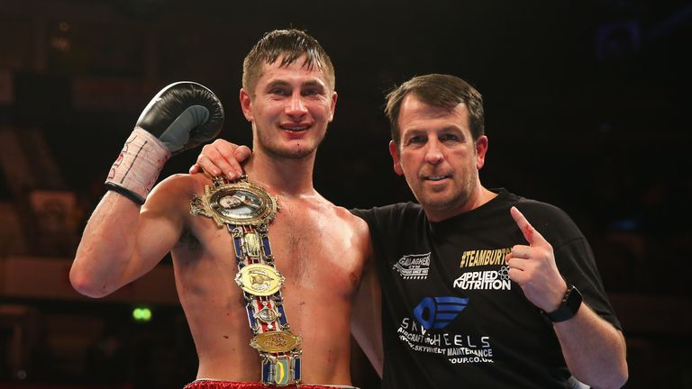 Burton and trainer Gallagher are set for a final eliminator