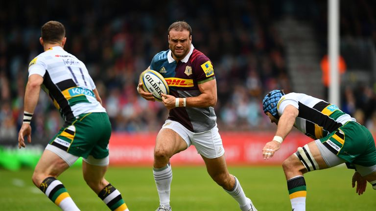 Roberts, who moved to Harlequins in 2015, has scored four tries this season