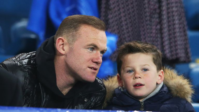 Wayne Rooney's son Kai has started training with Manchester City's academy