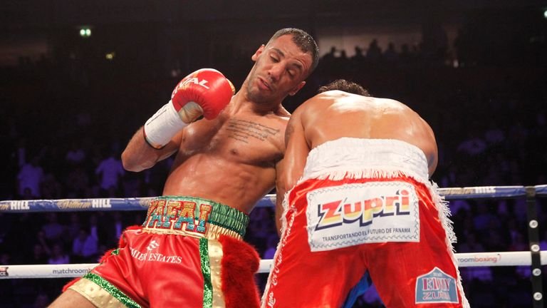 Yafai quickly found his range and accuracy with his left hand