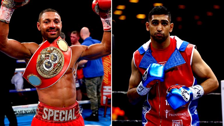 Kell Brook and Amir Khan are longstanding rivals