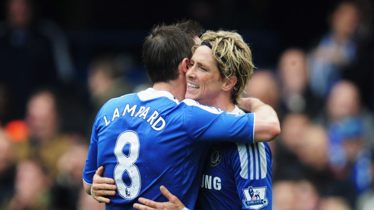 Torres joined Chelsea from Liverpool and made over 100 appearances for the Blues
