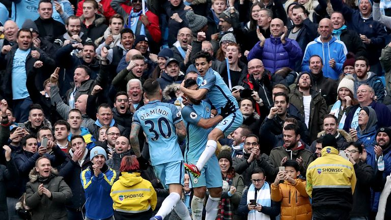 Manchester City will look to bounce back against champions Leicester
