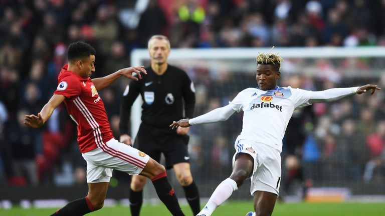 Lingard has appeared 20 times for United this term
