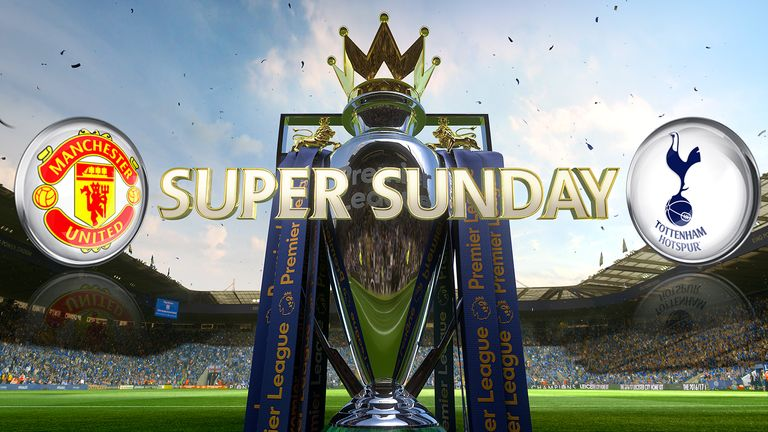Manchester United and Tottenham go head-to-head on Super Sunday. Watch live coverage from 2pm on SS1