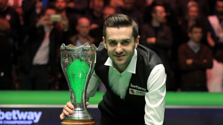 Selby has also lifted the UK Championship trophy this season back in December
