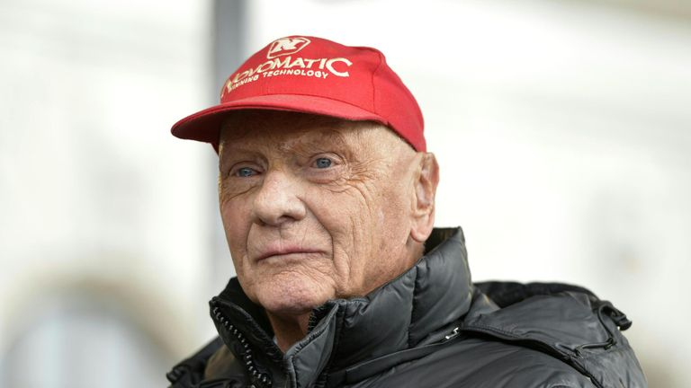 Lauda cannot speak highly enough of his time at Mercedes