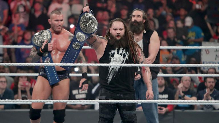 Randy Orton and Bray Wyatt became Smackdown Tag Team Champions
