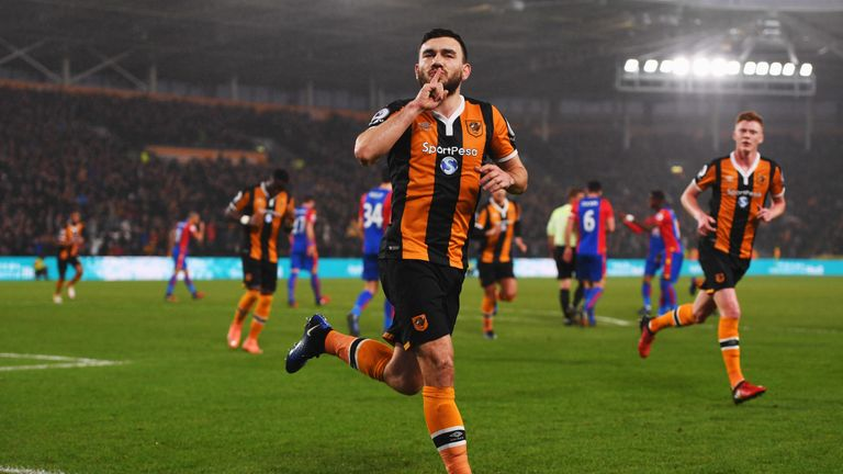 Snodgrass put Hull ahead after they were controversially awarded a penalty