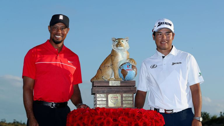 Woods was delighted to be playing despite finishing 14 shots behind champion Hideki Matsuyama