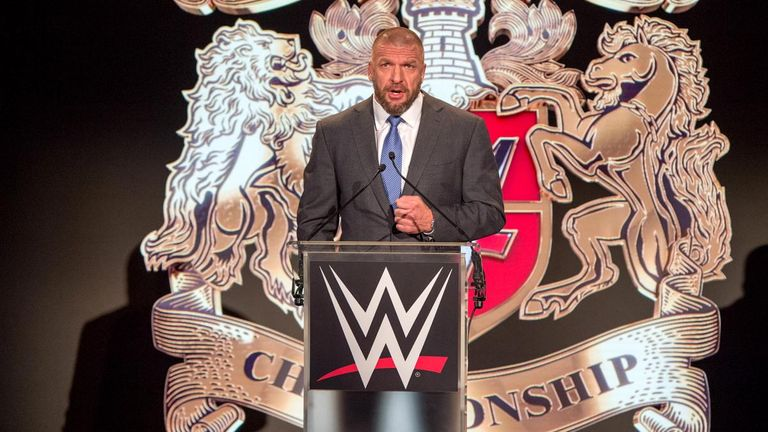 Triple H announced the event at a press conference in London