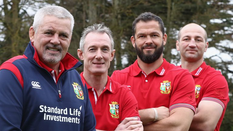 Borthwick will work with Warren Gatland and Rob Howley as part of the Lions coaching set-up this summer