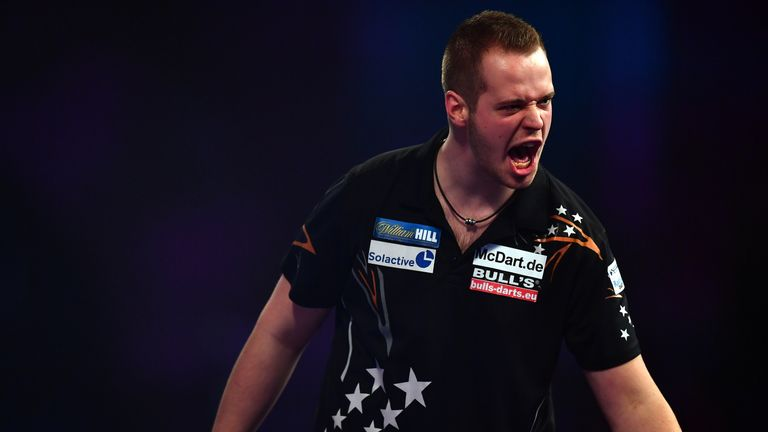 Max Hopp is only 21, but the German has yet to light up the darts world