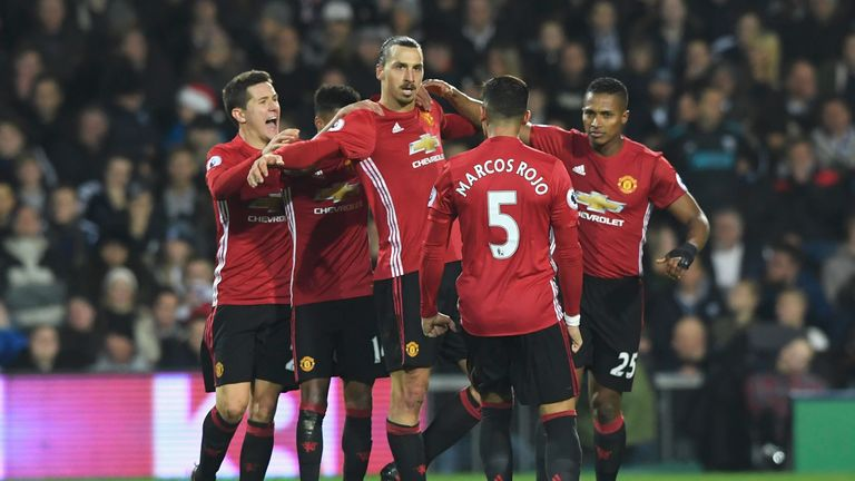 Ibrahimovic netted twice in the victory
