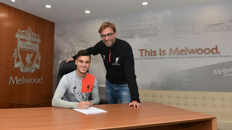Philippe Coutinho has pledged his future to Liverpool