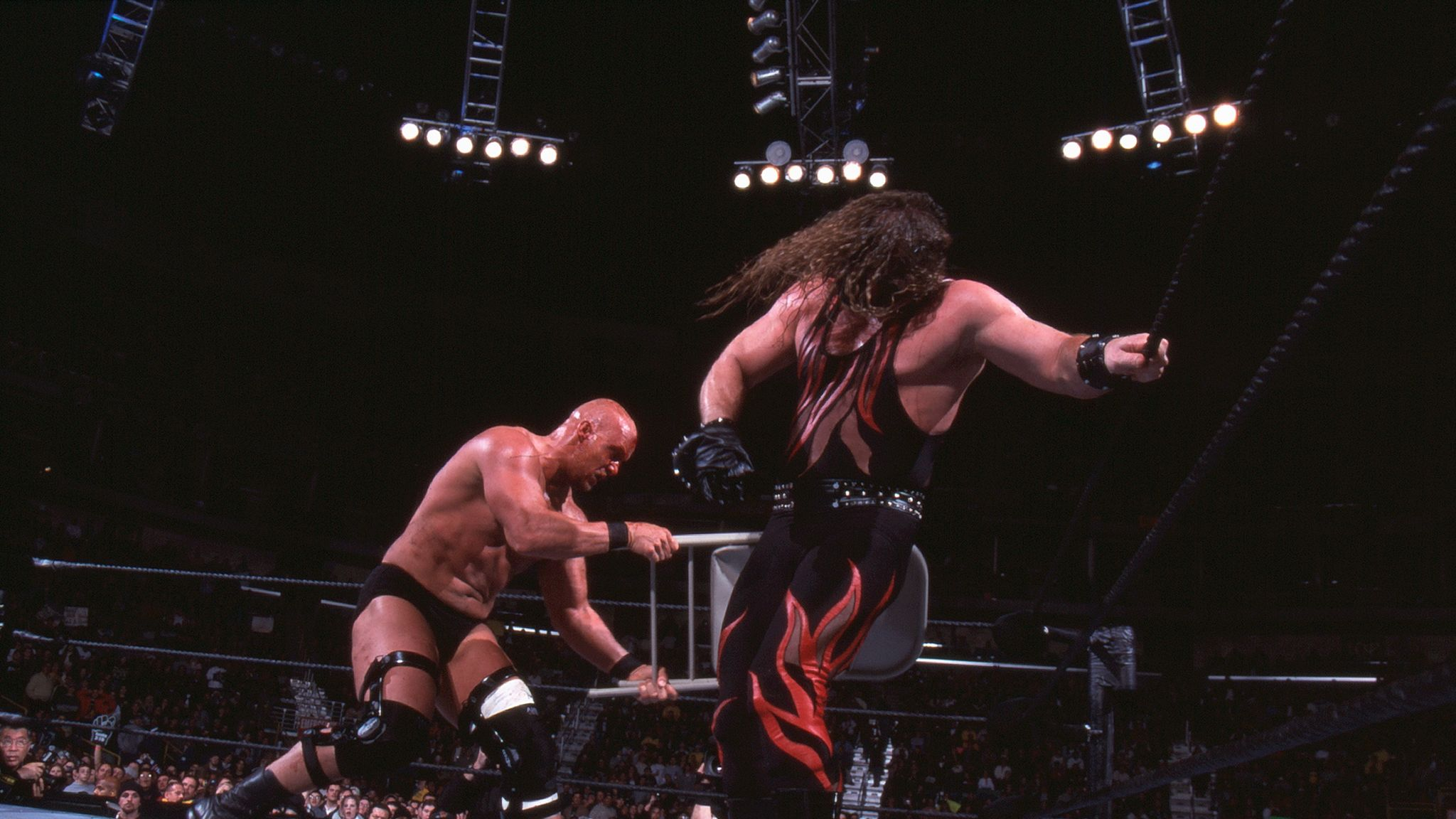 WWE Royal Rumble moments, part 1: Kane's destruction in 2001 features | WWE  News | Sky Sports