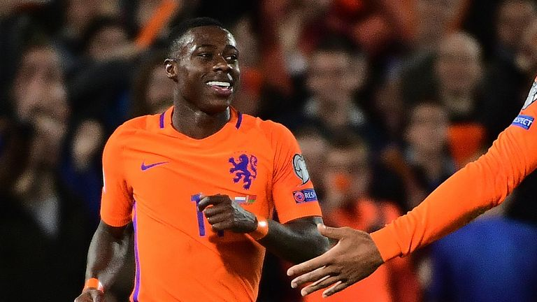 The 26-year-old made his Netherlands debut in March 2014 against France