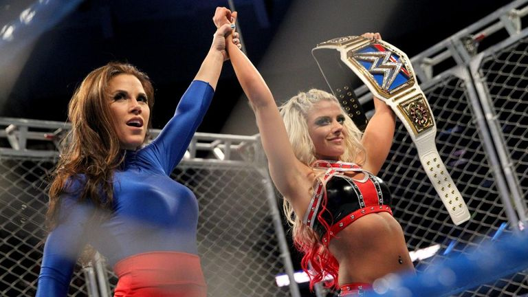 Mickie James' friendship with Alexa Bliss is one of the key storylines of the Elimination Chamber