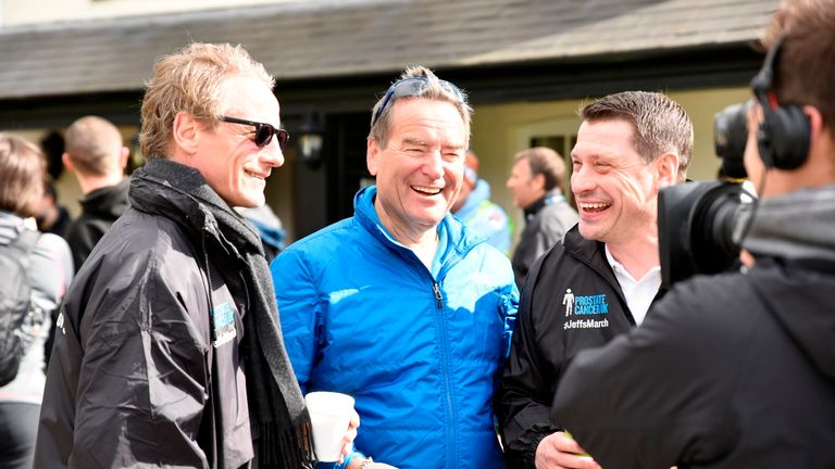 Jeff Stelling and the Soccer Saturday team are backing the March for Men