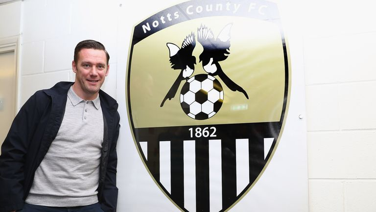 Kevin Nolan is the new manager of Notts County