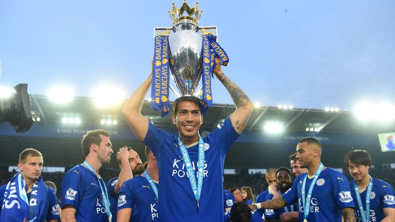 Ulloa won the Premier League with Leicester last season