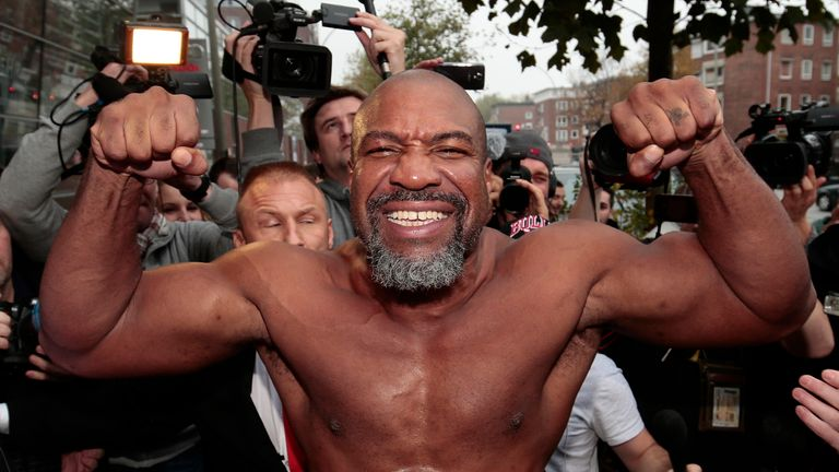Briggs boasts a record 37 first-round KOs in a career spanning 25 years in the ring