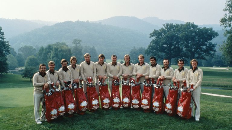 Seve Ballesteros and Tony Jacklin were part of Jacobs' Ryder Cup team in 1979