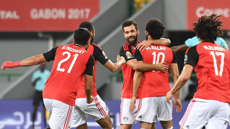 Egypt will meet Burkina Faso in the semi-finals