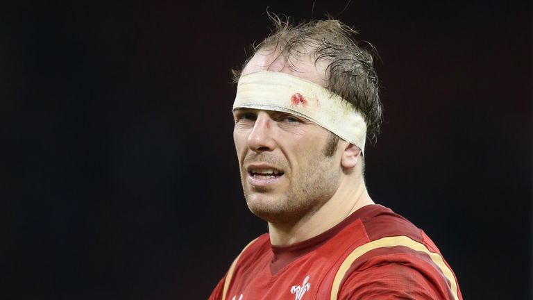Alun Wyn Jones will add to his 111 caps at the Stadio Olimpico