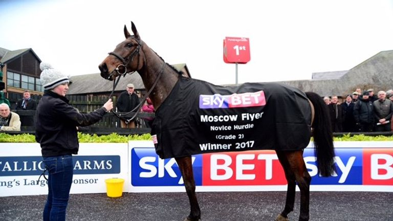 Any Second Now after Sky Bet Moscow Flyer Punchestown in his youth